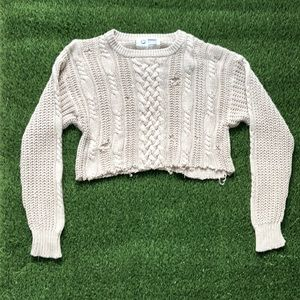 Vintage Arrow Dover Cropped Sweater